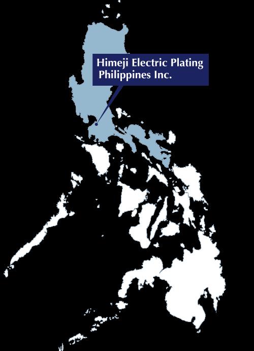 フィリピン工場所在地